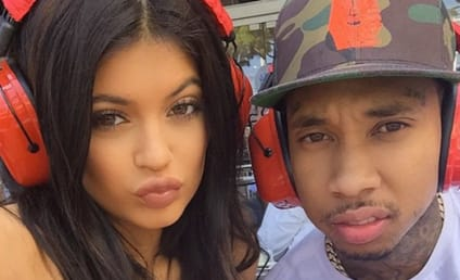 Kylie Jenner Flaunts Possible Engagement Ring, Travels to Europe With Tyga AGAIN!