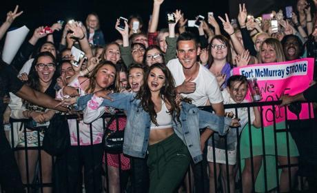 Selena Gomez in Edmonton