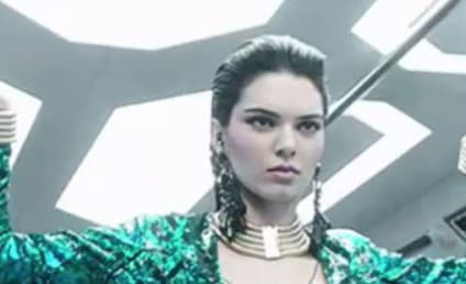 Kendall Jenner Steps into the Future for Balmain Commercial