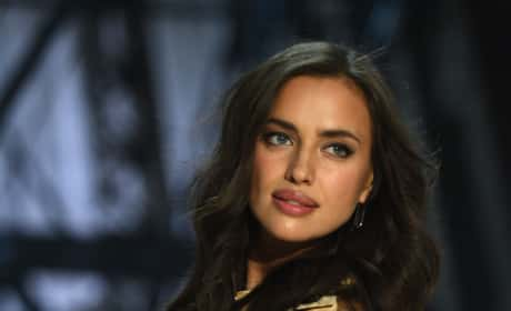 Irina Shayk on the Runway