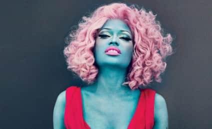 Nicki Minaj Goes Blue in Vogue