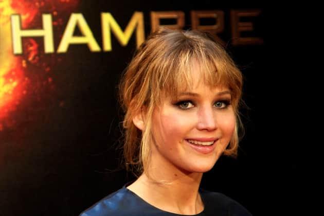 Jennifer Lawrence in Madrid
