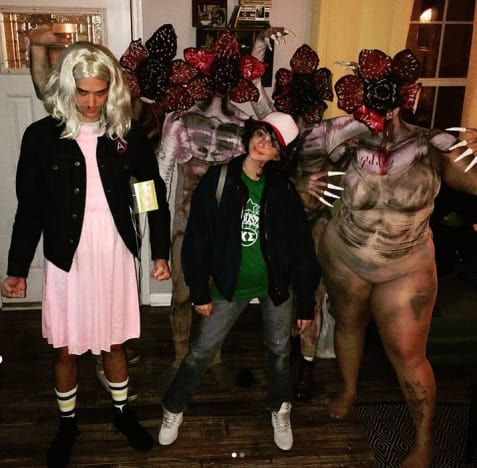 Wells Adams, Sarah Hyland Halloween Costumes