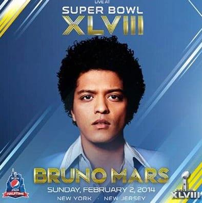 Bruno Mars Super Bowl Ad