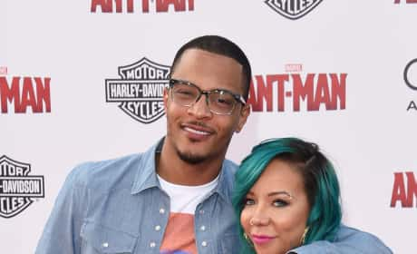 Tameka Harris and T.I. Pic