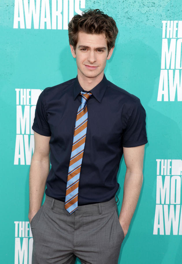 Andrew Garfield at MTV Movie Awards