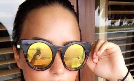 Demi Lovato Gets Low