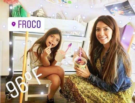 Farrah Abraham and Sophia at FroCo
