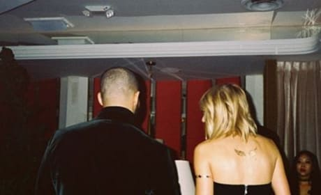 Taylor Swift and Drake on Instagram