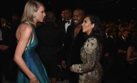Taylor, Kim and Kanye