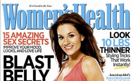 Women's Health Cover Girl