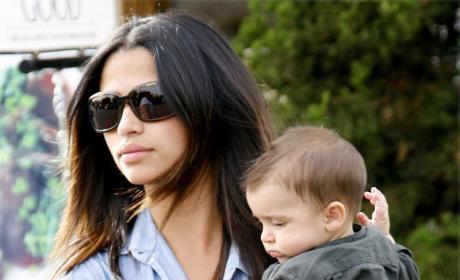 Camila Alves and Levi