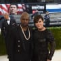 Kris Jenner and Corey Gamble at the MET Gala