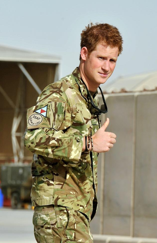 Prince Harry Approves