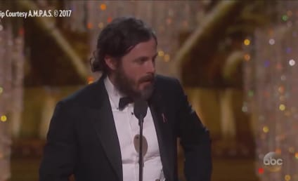 Casey Affleck Fails at Acceptance Speech with Glaring Omission