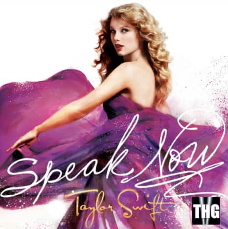 Taylor Swift: Speak Now Cover