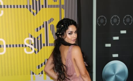 Vanessa Hudgens at the 2015 VMAs