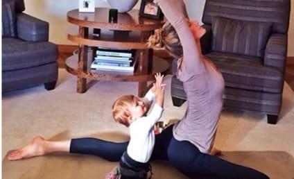Gisele Bundchen Does Yoga With Daughter Vivian