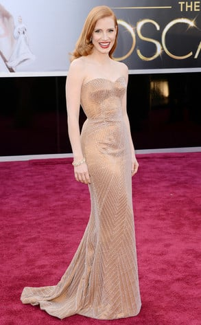 Jessica Chastain Academy Awards Dress