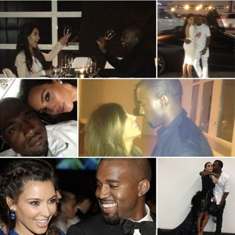 Kanye West Birthday Collage