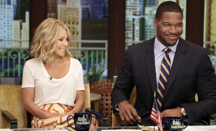Michael Strahan: Giving the Silent Treatment to Kelly Ripa!