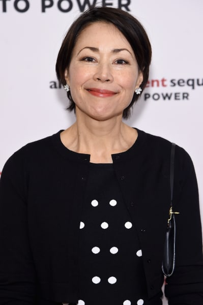 Ann Curry on a Red Carpet