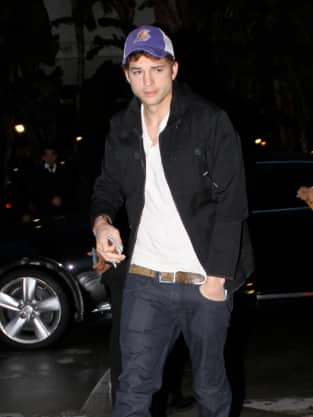 Ashton Kutcher, Post-Lakers Game