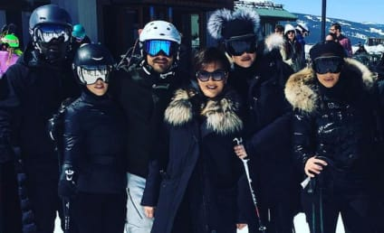 Kim Kardashian and Kanye West Barely Talked During Ski Vacation!