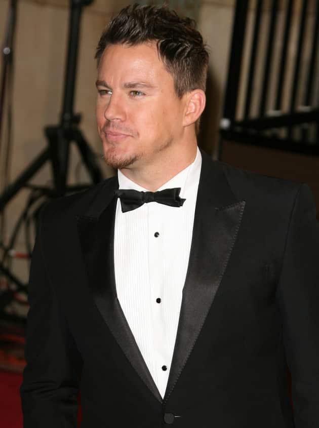 Channing Tatum at the Oscars