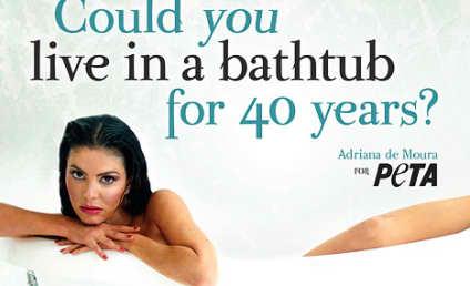 Adriana De Moura: Nude for PETA!