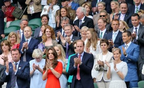 Will and Kate Watch Wimbledon 2015