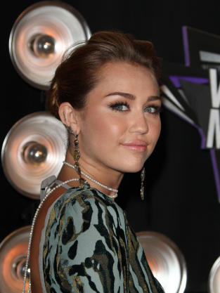 Photograph of Miley Cyrus