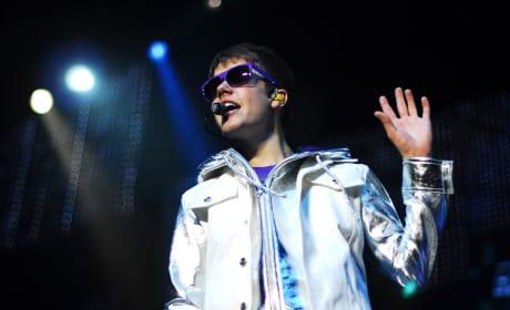 Bieber in Britain