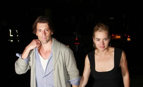 Louis Dowler and Kate Winlset