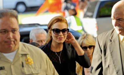 Lindsay Lohan Denied Bail, Taken Into Custody!