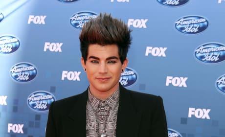 Adam Lambert at the Finale