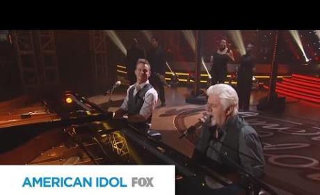 "Clark Beckham and Michael McDonald - ""Takin' it to the Streets"""