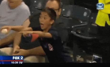 Fan Heckles Miguel Cabrera, Gets Awarded with Bat