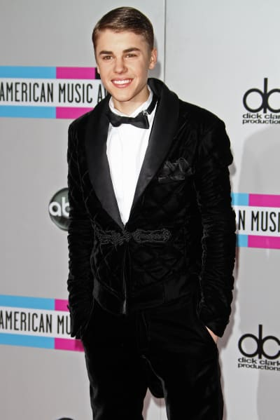 Justin Bieber in a Tux