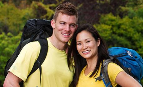Ernie Halvorsen and Cindy Chiang