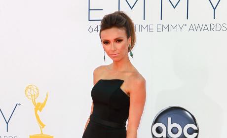 Giuliana Rancic Emmy Dress