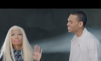 "Nicki Minaj ""Right By My Side"" Music Video: Chris Brown Loses Out to Nas!"