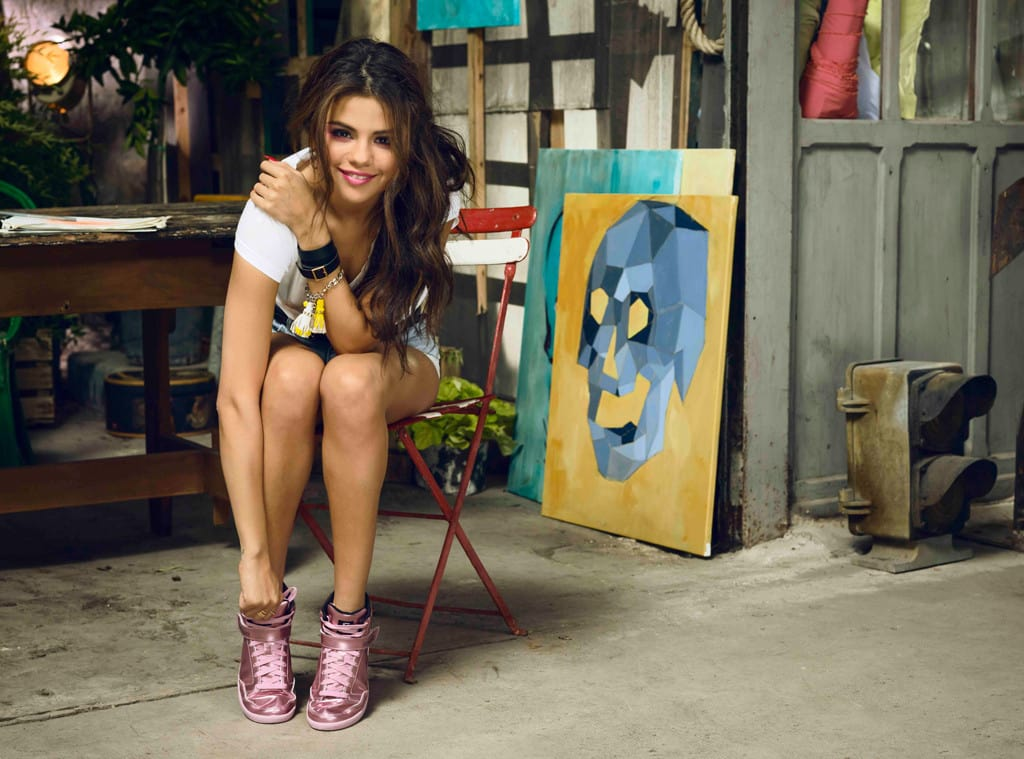 sin embargo lavandería caliente  Selena Gomez Adidas NEO Campaign Pics - The Hollywood Gossip