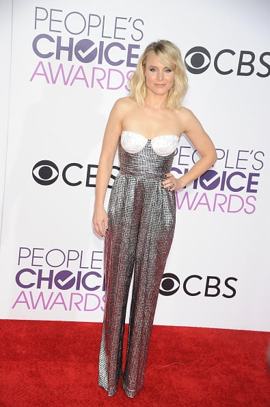 Kristen Bell at the People's Choice Awards