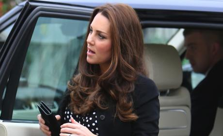 Kate Middleton Polkadot Dress