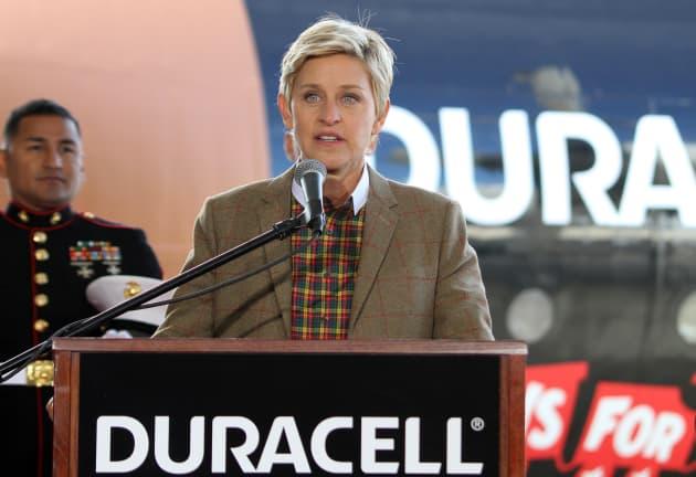 Ellen DeGeneres Speech Photo