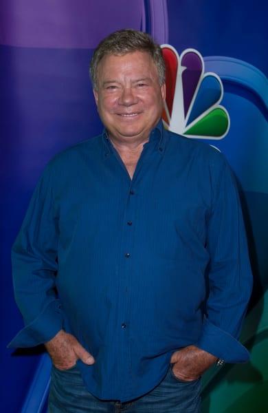 William Shatner Pose