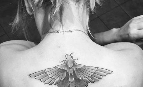 Kaley Cuoco's New Tattoo
