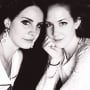 Lana Del Rey and Chuck Grant
