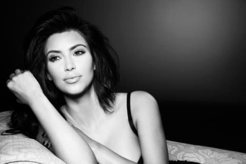 Kim Kardashian Facebook Pic
